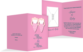 Wedding Invitation cards - Women - Pink (K20)