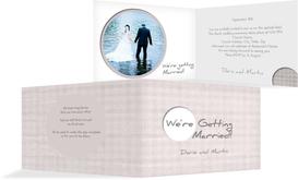 Wedding Invitation cards - Harmony - Purple (K19)